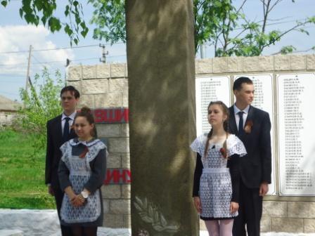 «Вахта памяти» в Екатериновке