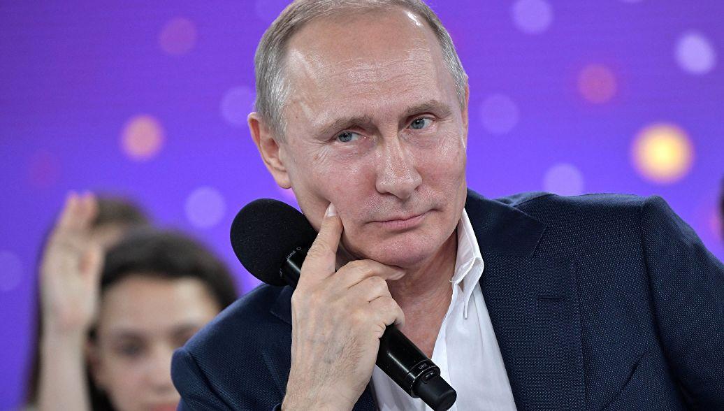 Разговор с Путиным.