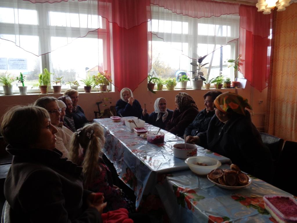 Как у нас на селе, прошёл концерт, посвящённый дню пожилого человека
