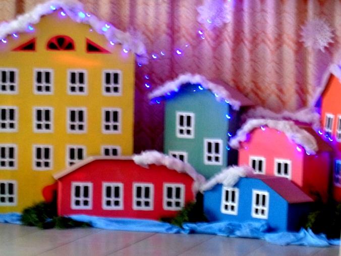 Детская новогодняя ёлочка в нашем ДК